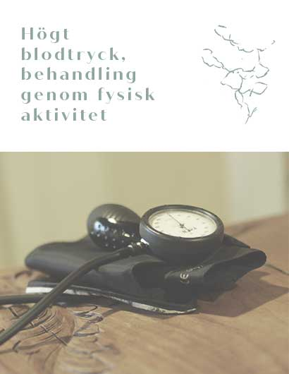 Hogt blodtryck, behandling genom fysisk aktivitet mobile