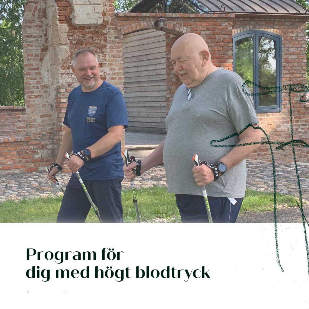 Program for dig med hogt blodtryck